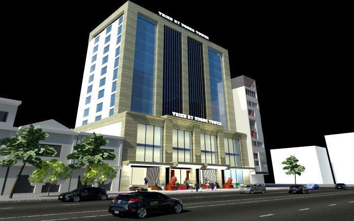 Thiết kế thi công khách sạn Triệu Ký Voòng