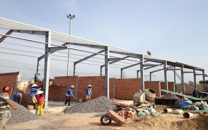 Đơn giá thi công xây dựng nhà xưởng