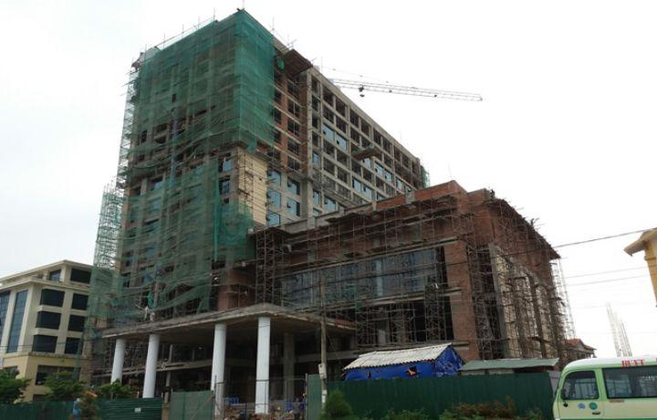 Thi công xây dựng khách sạn