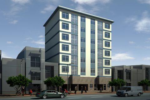 Thi công xây dựng chung cư mini cho thuê